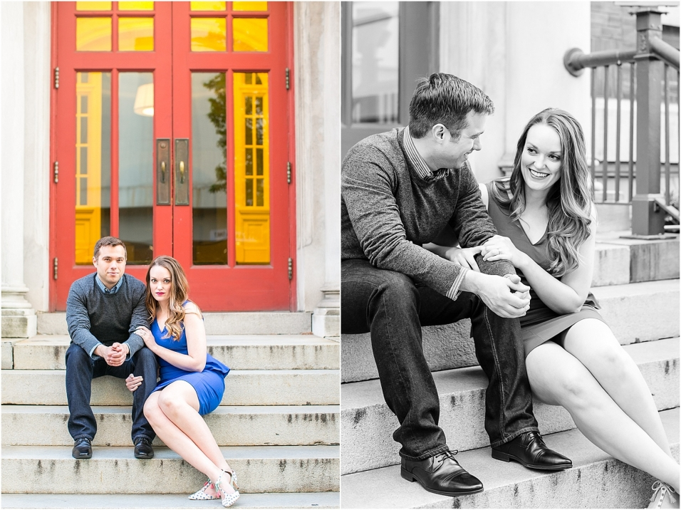 Downtown Nashville Engagement Session