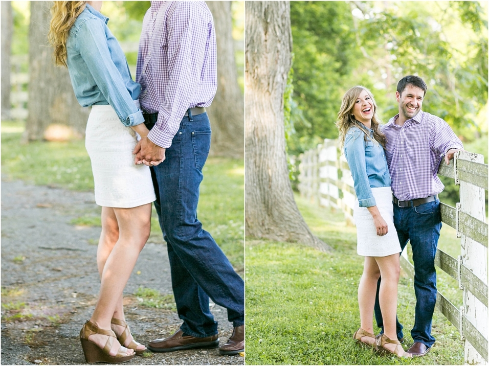Nashville Engagement Photographer Ellington Ag Center