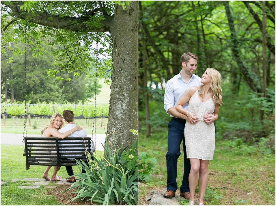 Nashville Arrington Vineyard Engagement Photos