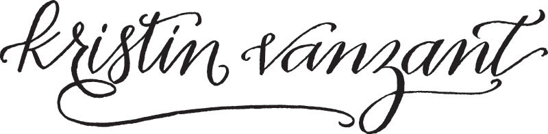 Nashville Wedding Photographer, Kristin Vanzant logo